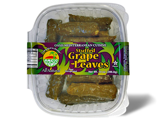 Stuffed Grape Leaves Oasis Mediterranean Cuisine